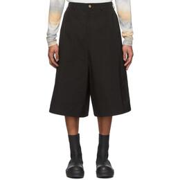 Keenkee Black Capri Culotte Shorts SS20WP08-CC-1