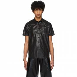 Keenkee Black Raw Station Short Sleeve Shirt SS20WS07-TRS-2