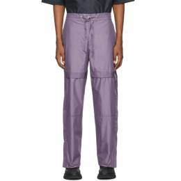 3.1 Phillip Lim Purple Chintz Poplin Jogger Lounge Pants S201-5126CTZM