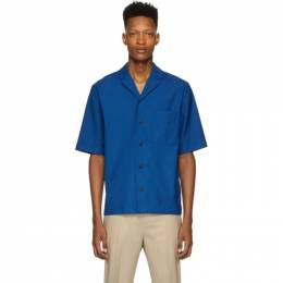 3.1 Phillip Lim Blue Wool Notched Lapel Shirt S201-2723WPLM