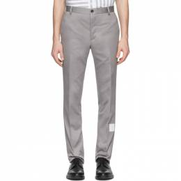 Thom Browne Grey Unconstructed Chinos MTU187A-03788