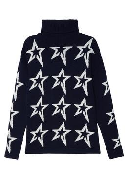Синий шерстяной свитер Perfect Moment 2581104385