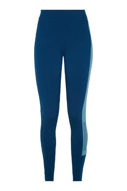 Синие леггинсы с лампасами и логотипом The North Face 2717120490