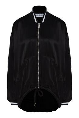 Легкая куртка черного цвета Bikkembergs 1487154869