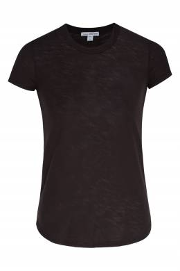 Темно-серая хлопковая футболка James Perse 280181904