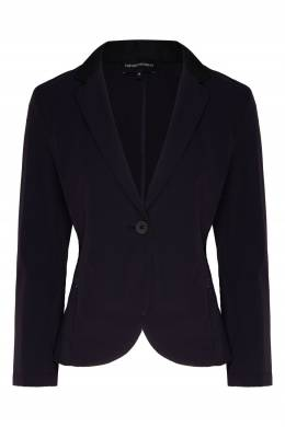 Темно-синяя куртка-пиджак Emporio Armani 2706183986