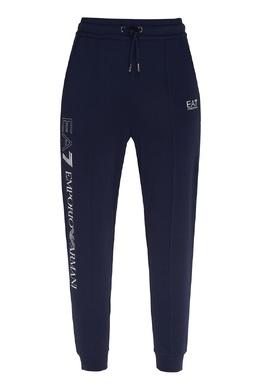 Синие спортивные брюки Emporio Armani 2706184001