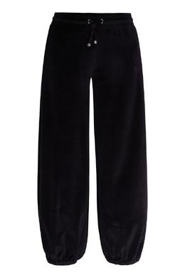 Черные бархатные брюки Emporio Armani 2706184004
