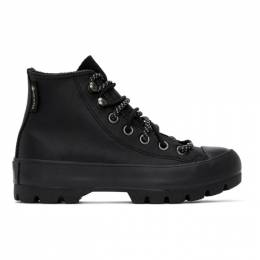 Converse Black Winter Chuck Taylor Lugged High-Top Sneakers 566155C