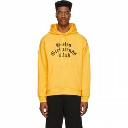 Stolen Girlfriends Club Yellow Arch Gothic Classic Hoodie C4-19H002YJ