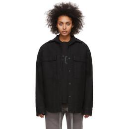 Fear Of God Black Canvas Shirt Jacket 6H19-6006-CNV