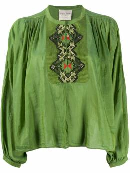 Forte_Forte button down embroidered shirt 7082MYSHIRT