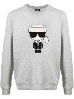 Karl Lagerfeld толстовка с вышивкой Ikonik 7050400501950