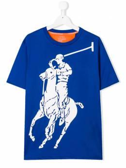 Ralph Lauren Kids футболка с принтом 786007