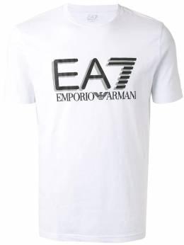 Ea7 Emporio Armani футболка EA7 с большим логотипом 3HPT62PJ03Z