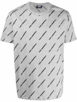 Karl Lagerfeld футболка с логотипом 7550530501220