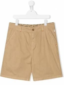 Paul Smith Junior TEEN zebra lined chino shorts 5Q25522