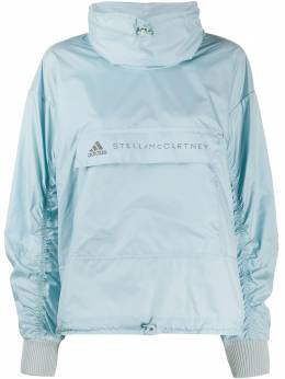 Adidas by Stella McCartney logo-print lightweight jacket FJ0747TECH