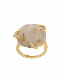 Wouters&Hendrix позолоченное кольцо с кварцем RDR154R