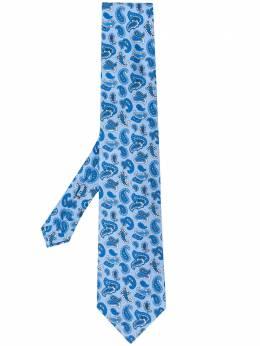 Etro галстук с принтом пейсли 120265110