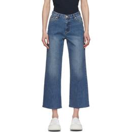 A.P.C. Blue Sailor Jeans COZZK-F09073