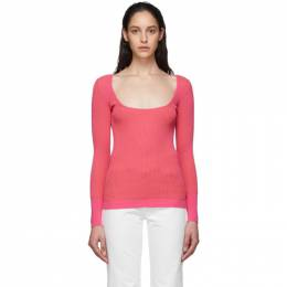 Jacquemus Pink Le Maille Rosa Sweater 201KN19-201 51451