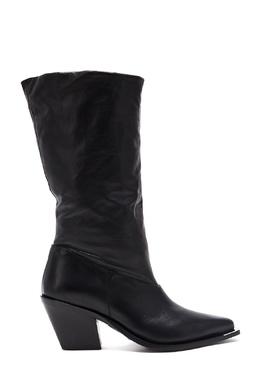 Черные кожаные сапоги Barbara Bui 1950184334