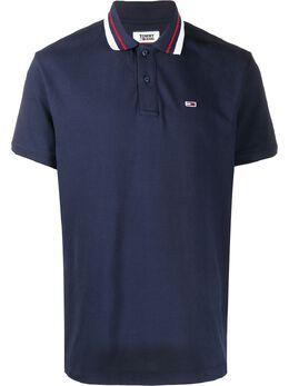 Tommy Jeans рубашка-поло с короткими рукавами DM0DM07195CBK