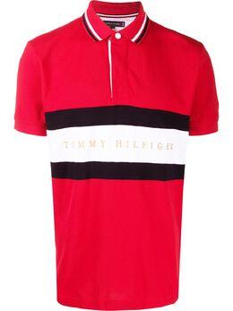 Tommy Hilfiger полосатая рубашка-поло MW0MW12242XLG