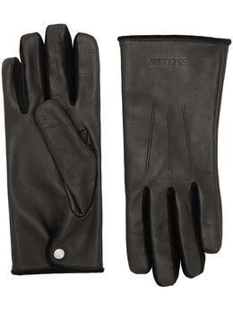 Burberry перчатки с тисненым логотипом 8024979