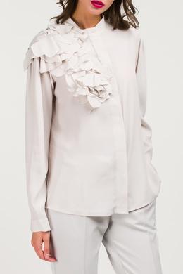 Блуза с асимметричным декором Blumarine 533184587