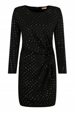 Черное платье с драпировкой Liu Jo 1776184524