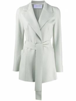 Harris Wharf London трикотажное пальто с поясом A2113MLX