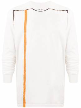 Rick Owens DRKSHDW футболка Level с длинными рукавами DU20S5260RNND