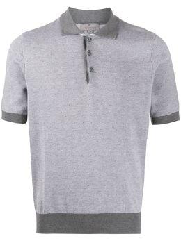 Canali рубашка-поло в двух тонах C0703MK00852