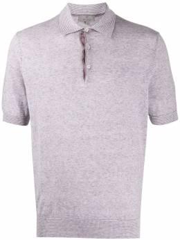 Canali рубашка-поло узкого кроя C0715MK00859