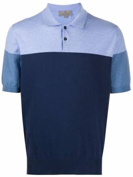 Canali рубашка-поло в двух тонах C0720MK00866