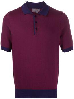 Canali рубашка-поло узкого кроя C0703MK00852