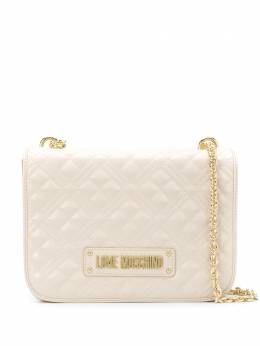 Love Moschino quilted logo shoulder bag JC4000PP1ALA0