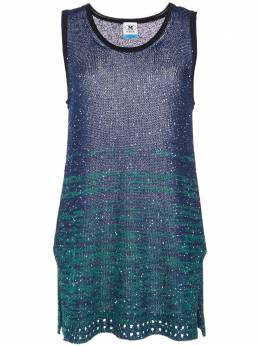 M Missoni sequinned colour block top 2DK000132K004A