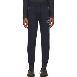 Boss by Hugo Boss Navy Cotton Track Pants 50424843
